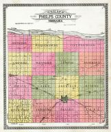 County Outline Map, Phelps County 1920